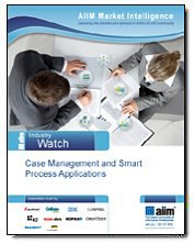 Case Management and Smart Process Applications