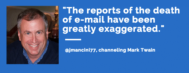the death of email