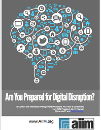 Are You Prepared for Digital Disruption?