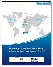 Document Process Outsourcing