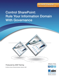 Control SharePoint: Rule Your Information Domain With Governance