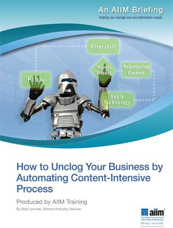 How to Unclog Your Business by Automating Content-Intensive Process