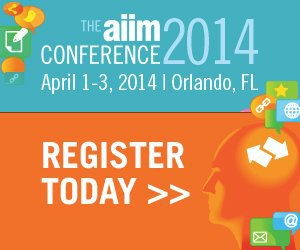 Register and more information for AIIM 2014