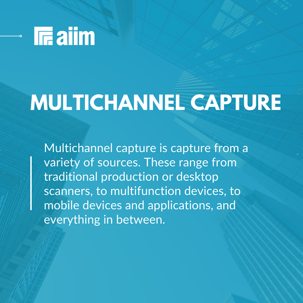 What is Multichannel Capture