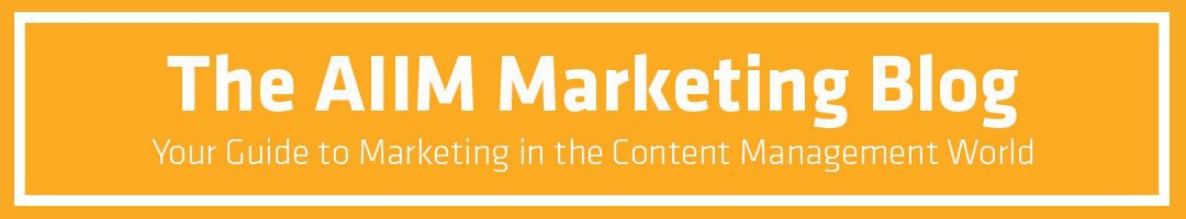 Marketing best practices for ECM solution providers.