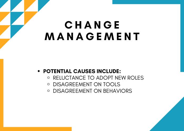 Information Governance Obstacles - Change Management