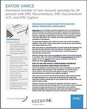 How Eaton Vance Revolutionized its Processes in just 6 Months