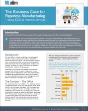 The Business Case for Paperless Manufacturing
