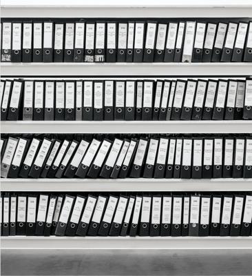 Physical files before ECM