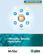 Information Security - Staying Vigilant