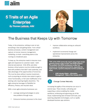 5 Traits of an Agile Enterprises