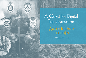 A Quest for Digital Transformation AIIM of Thrones Edition Cover