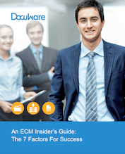An ECM Insider's Guide - The 7 Factors for Success
