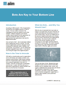 Bots Are Key to Your Bottom Line Cover
