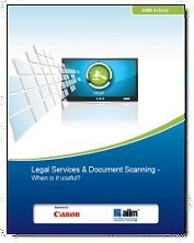 Legal Services & Document Scanning— when is it useful?