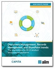 Document Management, Records Management, and SharePoint Trends