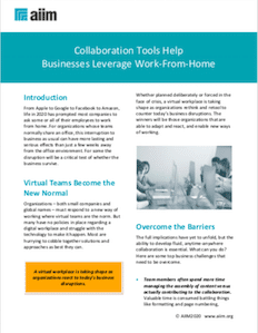 Collaboration Tools Help Businesses Leverage Work-From-Home