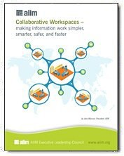 Collaborative Workspaces - making information work simpler, smarter, and faster