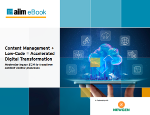 Content Management Low-Code Accelerated Digital Transformation Cover