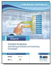 Content Analytics: automating processes and extracting knowledge