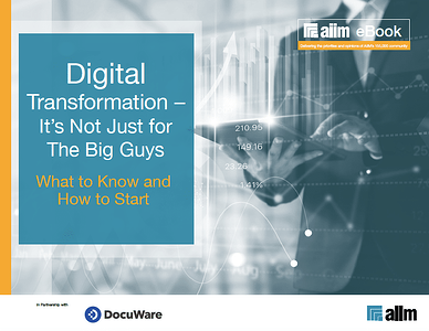 Digital Transformation - Its Not Just for the Big Guys LP Cover