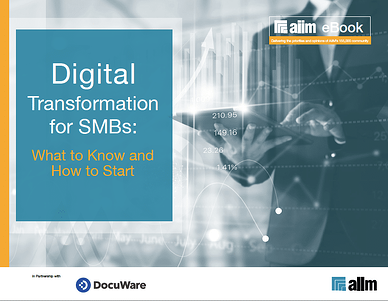 Digital Transformation for SMBs - What to Know and How to Start Cover