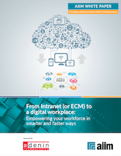 From Intranet or ECM to a digital workplace