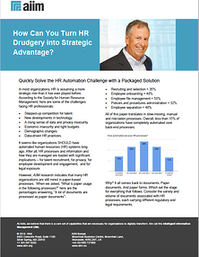How Can You Turn HR Drudgery into Strategic Advantage?