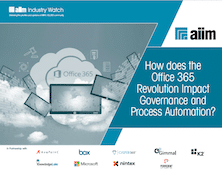 How does the Office 365 Revolution Impact Governance and Process Automation