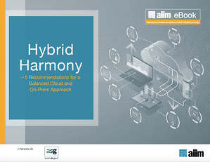 Hybrid Harmony 5 Recommendations for a Balanced Cloud and On-Prem Approach Cover