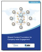 Shared Content Foundation for Company-wide Engagement