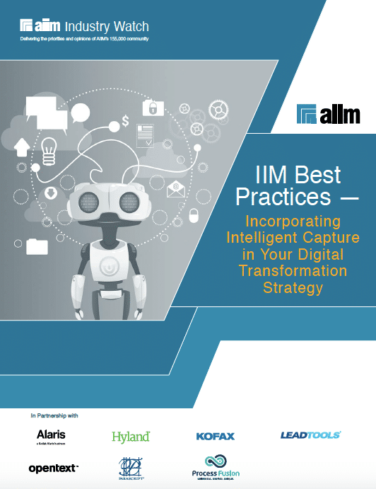 Incorporating Intelligent Capture in Your Digital Transformation Strategy Cover