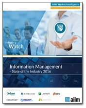 Information Management - State of the Industry 2016