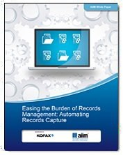Easing the Burden of Records Management: Automating Records Capture