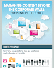 Managing Content Beyond the Corporate Walls Infographic