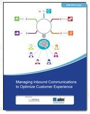 Managing Inbound Communications to Optimize Customer Experience