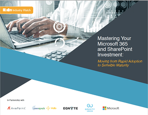 Mastering Your Microsoft 365 and SharePoint Investment