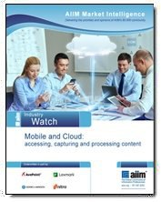 Mobile and Cloud: Accessing, Capturing and Processing Content