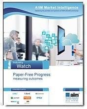 Paper-Free Progress:Measuring Outcomes