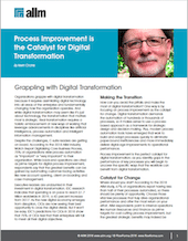 Process Improvement is the Catalyst for Digital Transformation