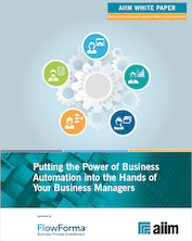 Putting the Power of Business Automation into the Hands of Your Business Managers