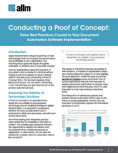 Three Best Practices Crucial to Your Document Automation Software Implementation Cover