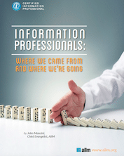 What is the New Role of an Information Professional