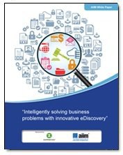 Intelligently Solving Business Problems with Innovative eDiscovery