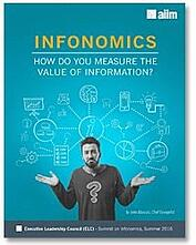 Infonomics: How do you measure the value of information