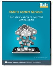 ECM to Content Services: The Application of Content Management