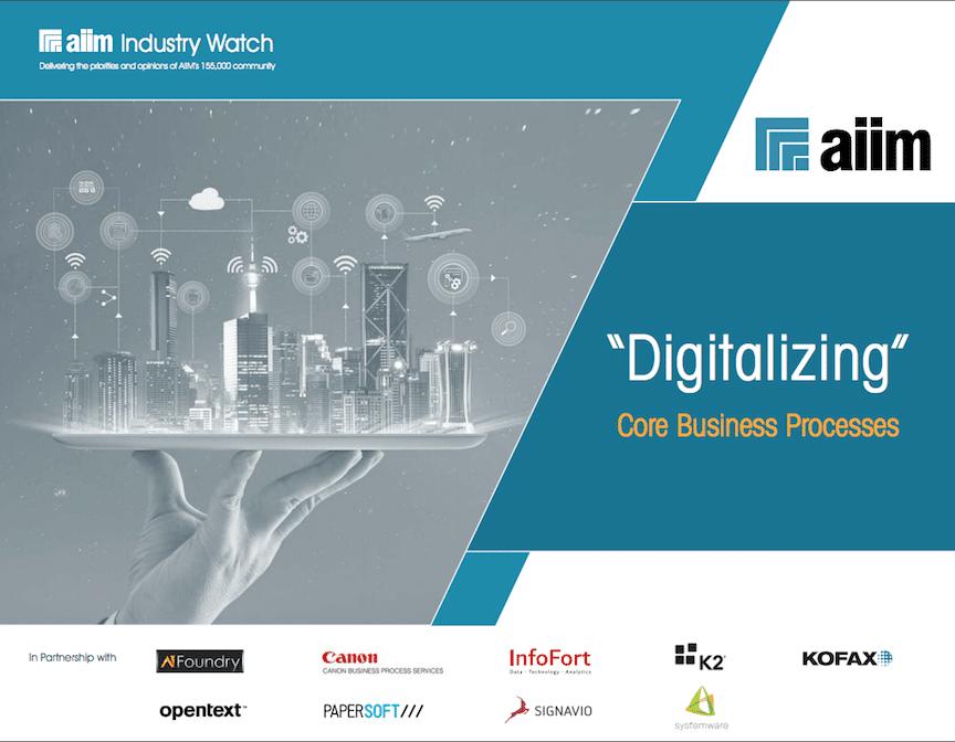 Digitalizing Core Business Processes
