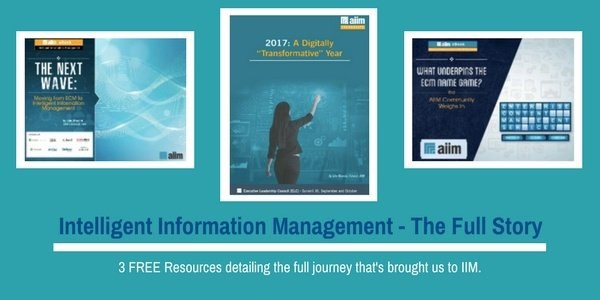 Intelligent Information Management -  The Full Story