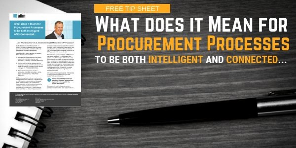 What does it Mean for Procurement Processes to be both Intelligent AND Connected... SM