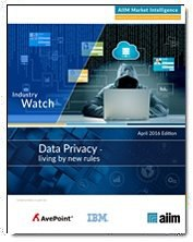 Data Privacy - Playing by New Rules